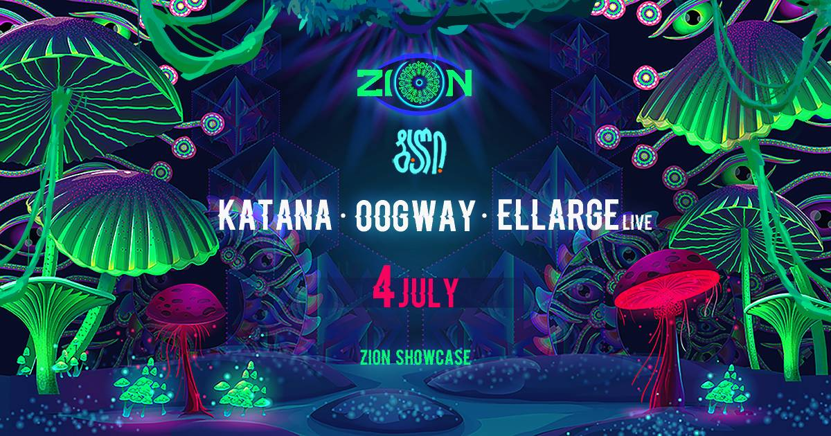 ZION Showcase at Baghi • ბაღი - Full Buck Moon