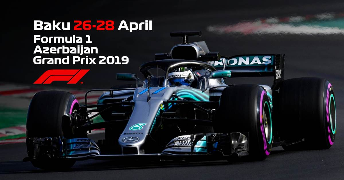 Formula 1 Azerbaijan Grand Prix Tickets