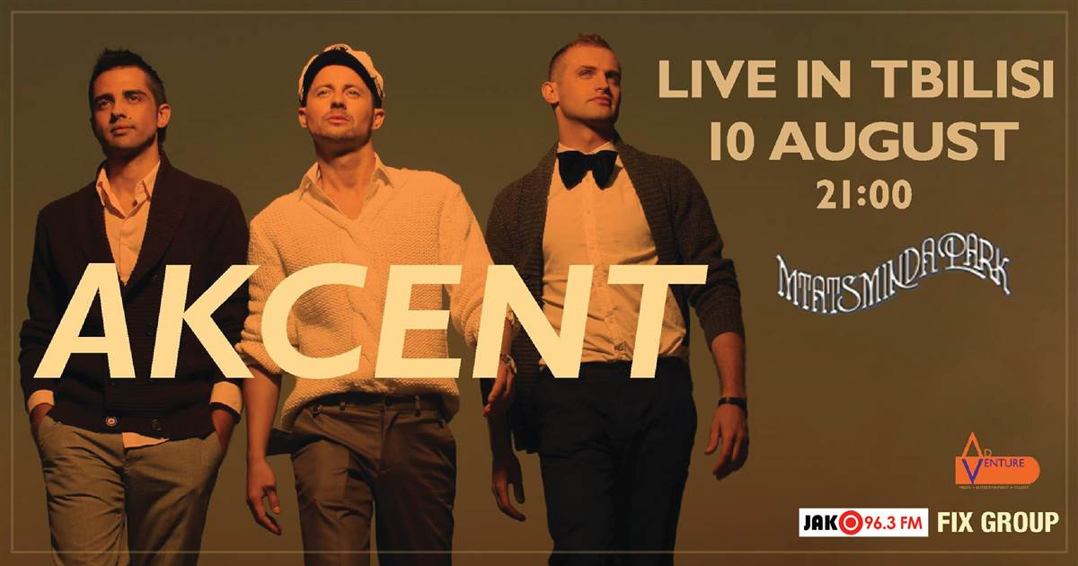 AKCENT LIVE IN GEROGIA